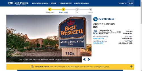 Best Western Apache Junction Inn Az United