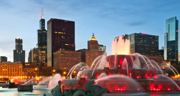 Visit in Chicago